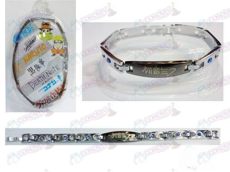 Hatsune stainless steel diamond bracelet