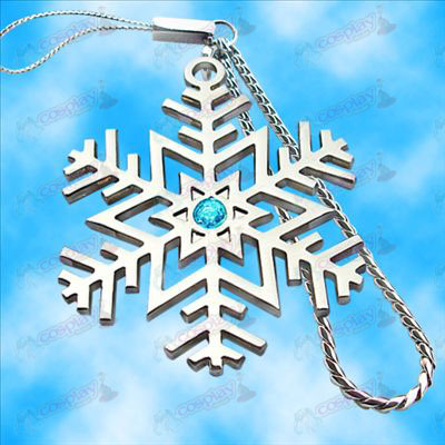 Hatsune snowflake logo Machine Chain (Blue Diamond)