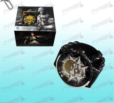 CrossFire Accessoriescf afro black gold watches