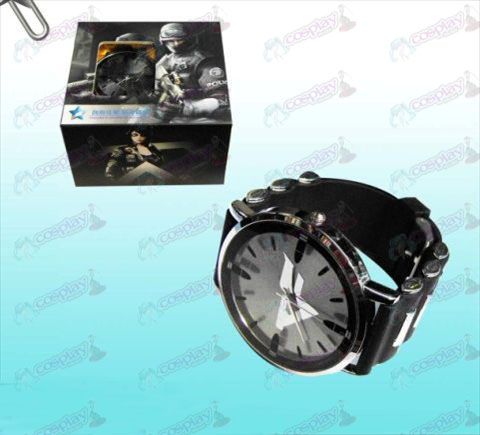 CrossFire Accessoriescf logo black watches