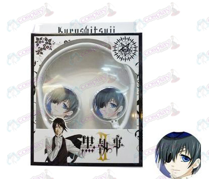 Stereo headset can be folded commutation headphones Black Butler Accessories2