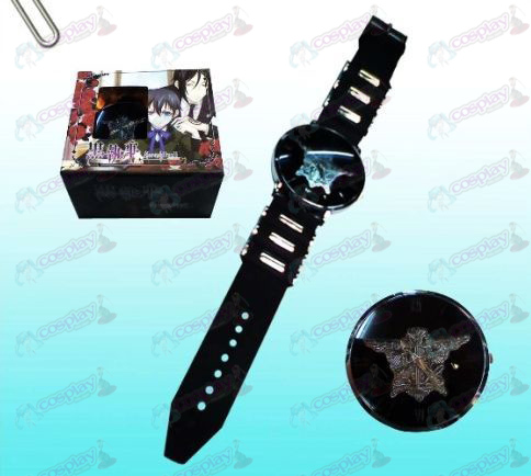 Black Butler Accessories eagle logo black watches
