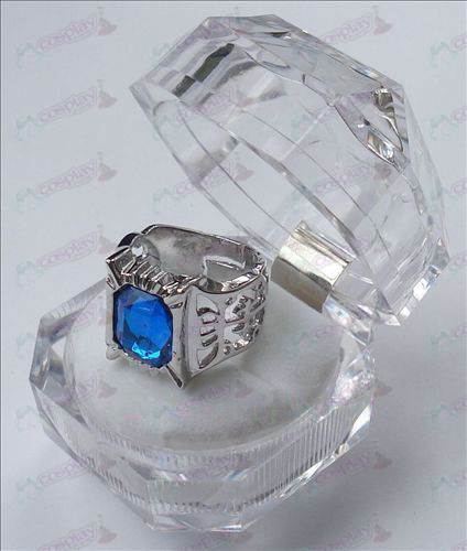 Black Butler Accessories sapphire ring (large)