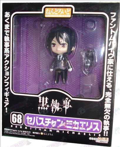 Q-68 # Black Butler Accessories doll hand to do face transplant