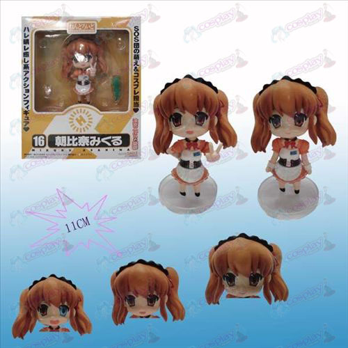 Q-16 # Suzumiya Asahina face transplant doll hand to do