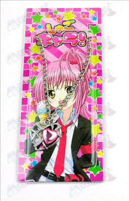 Shugo Chara! Accessories Heart Necklace (Pink)