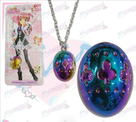 Shugo Chara! Accessories soul Egg Necklace Symphony - Plum