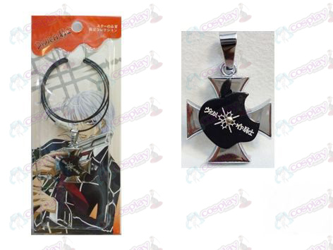 Vampire knight Accessories logo wire necklace