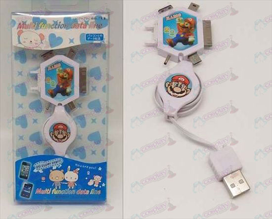 Multi Charging Cable (Super Mario Bros Accessories)