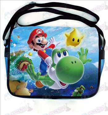 Super Mario Bros Accessories colored leather satchel 541