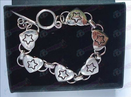 Lucky Star Accessories Heart Bracelet (box)