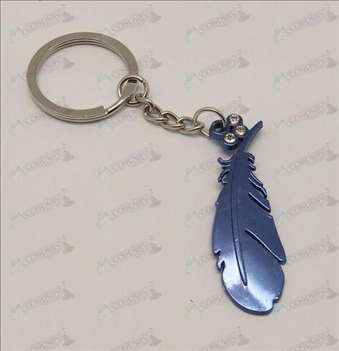 Blister Tsubasa Accessories Feather Keychain (Blue)