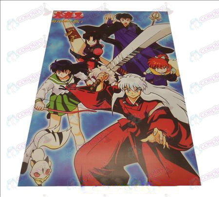 D42 * 29InuYasha Accessories embossed posters (8)