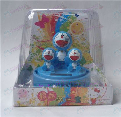Sambo Doraemon Solar Accessories Bobblehead (box height 12cm)