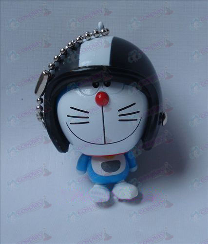 Doraemon helmet ornaments