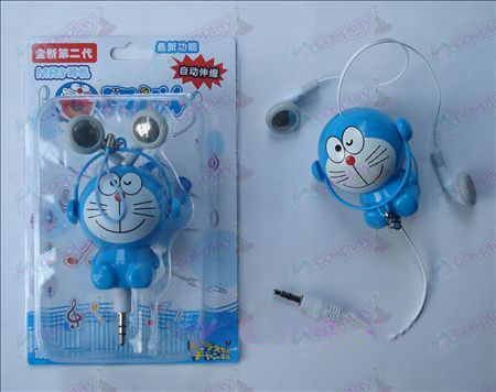 Jingle automatic retractable MP3 headphones (a)
