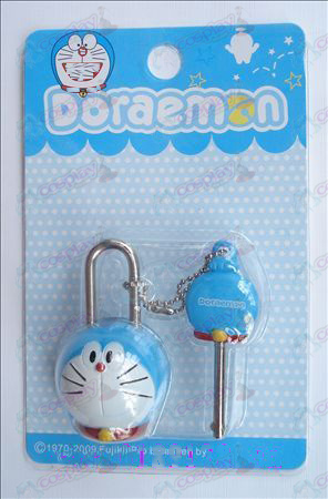 Doraemon couple locks (movable)