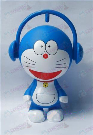 Doraemon doll money box A (19cm)