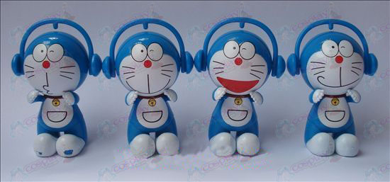 4 models Headphones jingle doll (7.5cm)