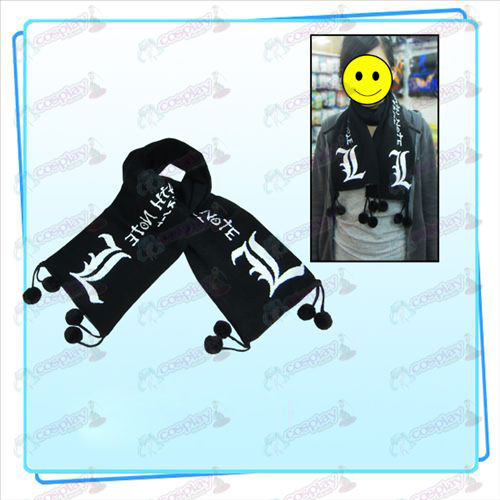 310acdde00a Death Note Accessories Jacquard Scarf Death Note Accessories ...
