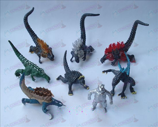 Ultraman Accessories-8 models monster