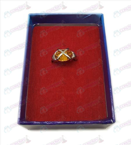 Shakugan no Shana gemstone rings (large orange)