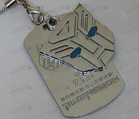 Transformers Accessories Autobots shuangpai machine rope - blue oil - white