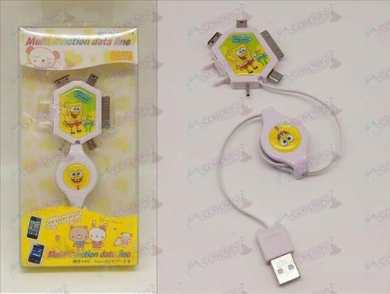 Multi Charging Cable (SpongeBob SquarePants Accessories)