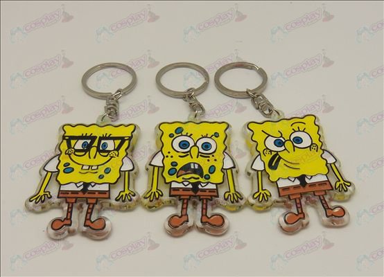 SpongeBob SquarePants Accessories organic Keychain (6 / set)