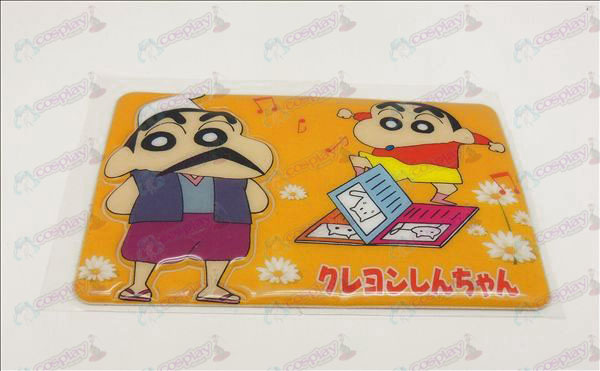 Waterproof degaussing card affixed (Crayon Shin-chan Accessories)