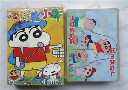 Hardcover edition of Poker (Crayon Shin-chan Accessories)
