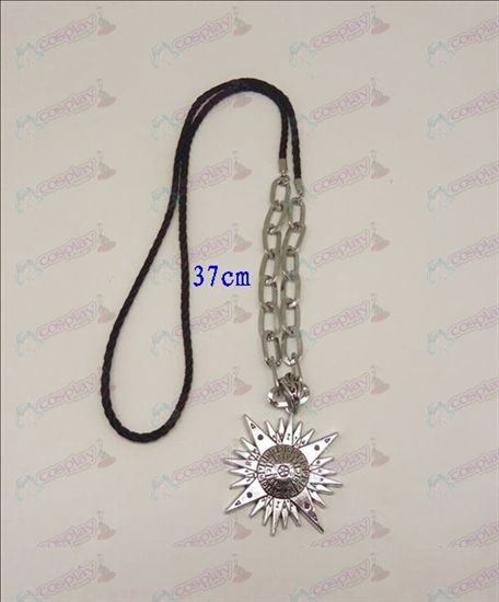 DD.Gray-man Accessories logo punk long necklace (silver)