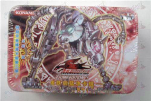 Genuine Tin Yu-Gi-Oh! Accessories Card (scrap metal onslaught card group)