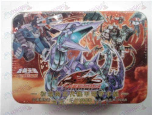 Genuine Tin Yu-Gi-Oh! Accessories Card (primary to ancient armor electronic card group)