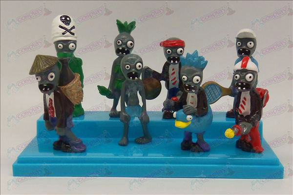 Three generations eight Plants vs Zombies Accessories Doll