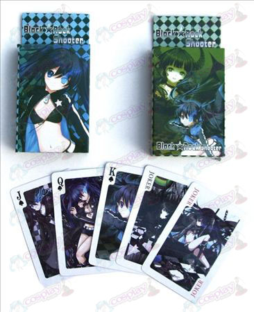 Lack Rock Shooter Accessories Cards