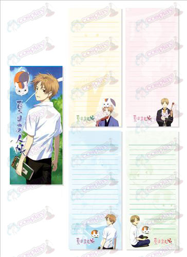 Natsume's Book of Friends Accessories Long Scratch Pad 023