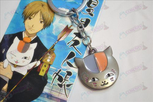 Natsume's Book of Friends Accessories owl Keychain Black