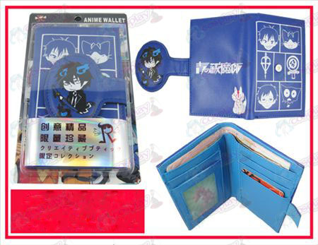 Personality Wallet-Blue Exorcist Accessories