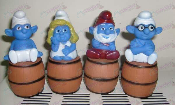 Sit barrel high 13CM The Smurfs Accessories Cash Drawer