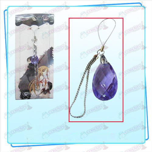 Sword Art Online Accessories Clothing Kazuto Asuna phone knots of the heart (purple