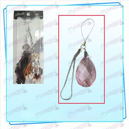 Sword Art Online Accessories Clothing Kazuto Asuna phone knots of the heart (pink