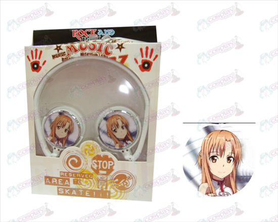Stereo headset folding headphone Sword Art Online Accessories-4
