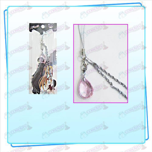 Sword Art Online Accessories Yui Heart Crystal Strap (Pink)