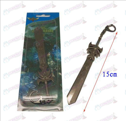 League of Legends Accessories knife buckle 15 (gun color)