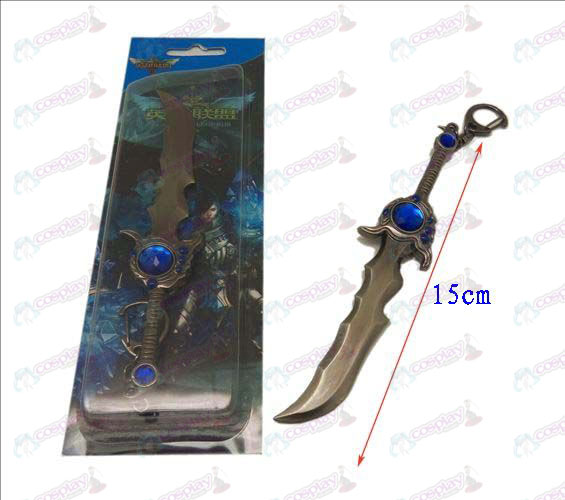 League of Legends Accessories knife buckle 12 (gun color)