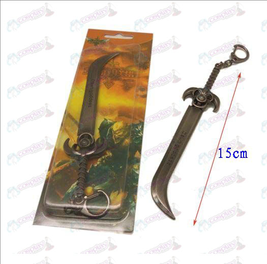 League of Legends Accessories knife buckle 7 (gun color)