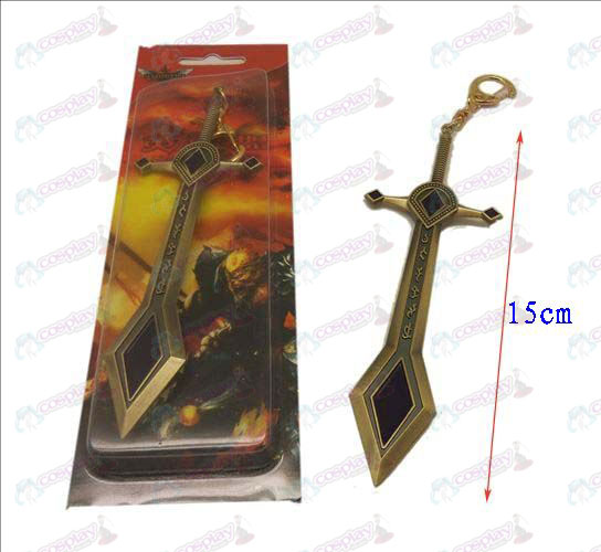 League of Legends Accessories knife buckle 6 (Bronze)