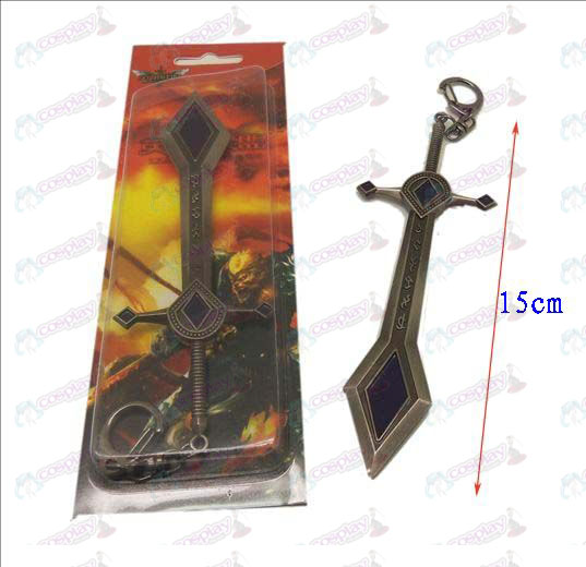 League of Legends Accessories knife buckle 6 (gun color)