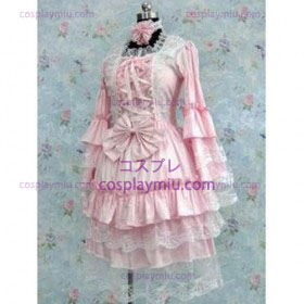 Tailor-made Pink Gothic Lolita Cosplay Costume